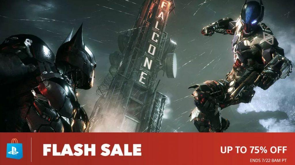 US PSN Flash Sale