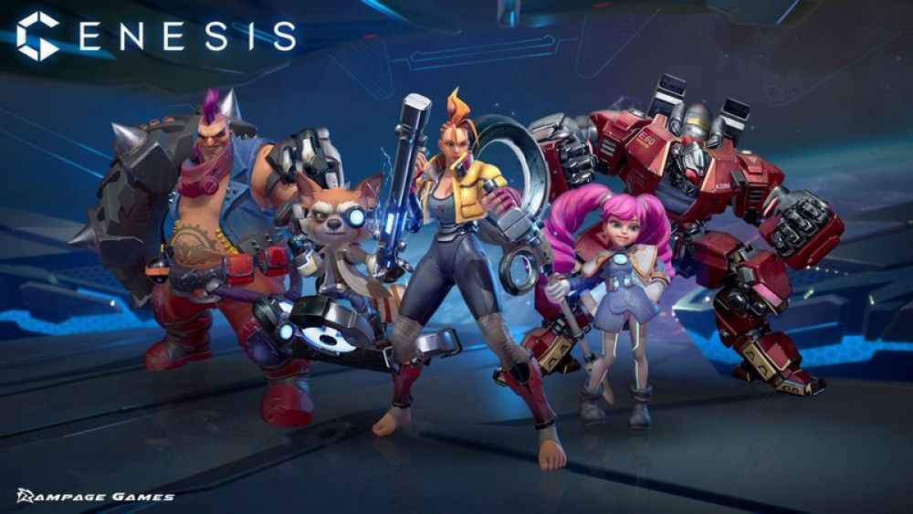 Genesis PS4 Impressions Character Selection