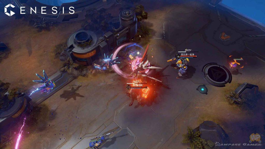 Genesis PS4 Impressions Combat
