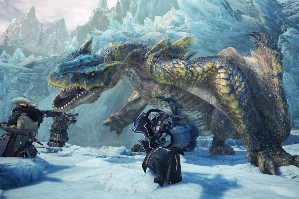 Monster Hunter World Iceborne Is Adding Aloy From Horizon Zero