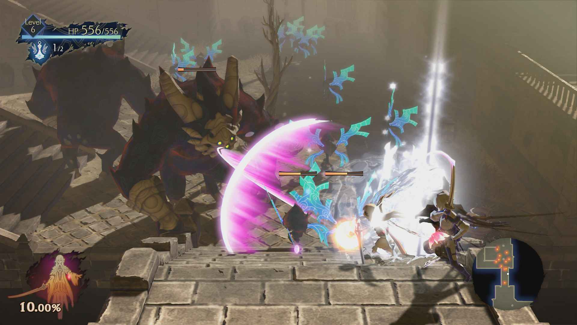 Oninaki review combat