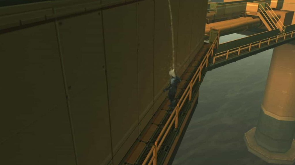 A History of Piss In Hideo Kojima Games 1
