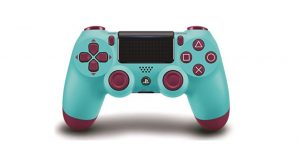 Berry Boo PS4 Berry Blue Controller
