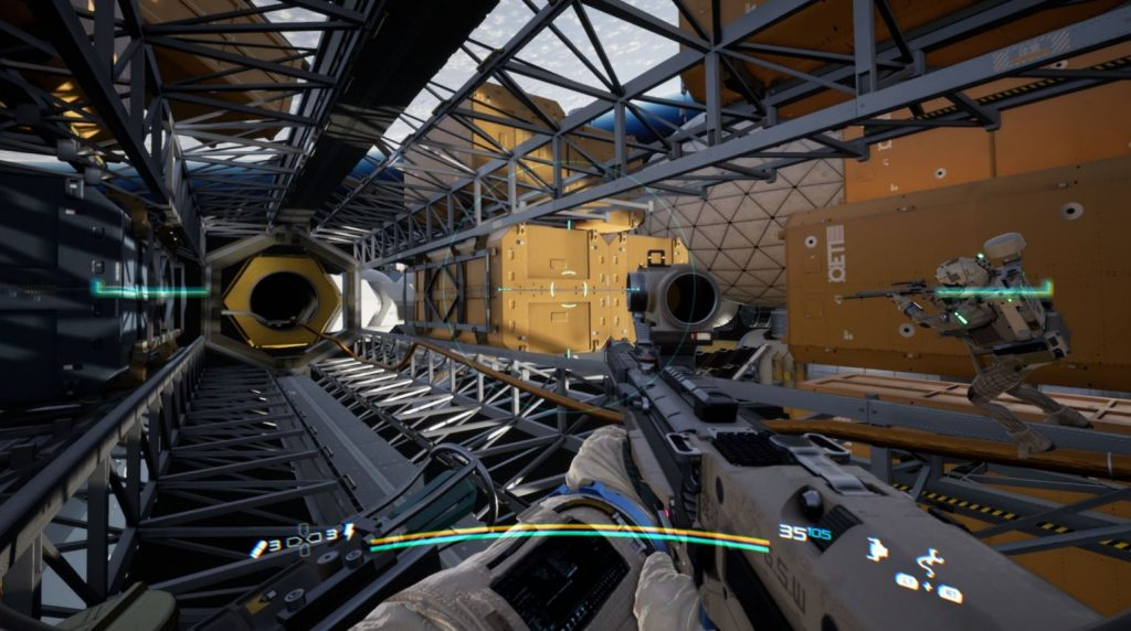 Boundary Gamescom 2019 Trailer Showcases The Space FPS With