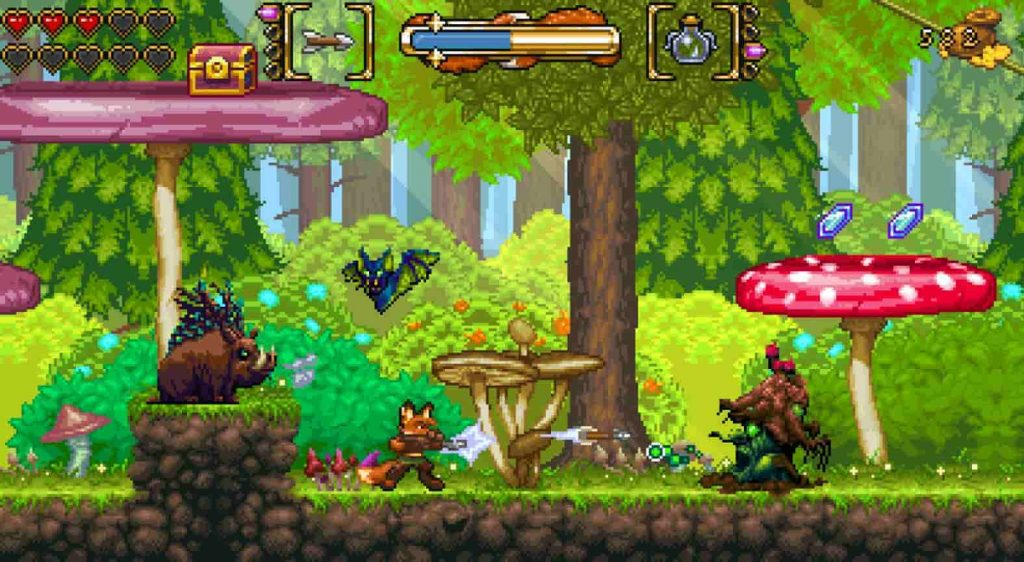Fox N Forests PS Plus