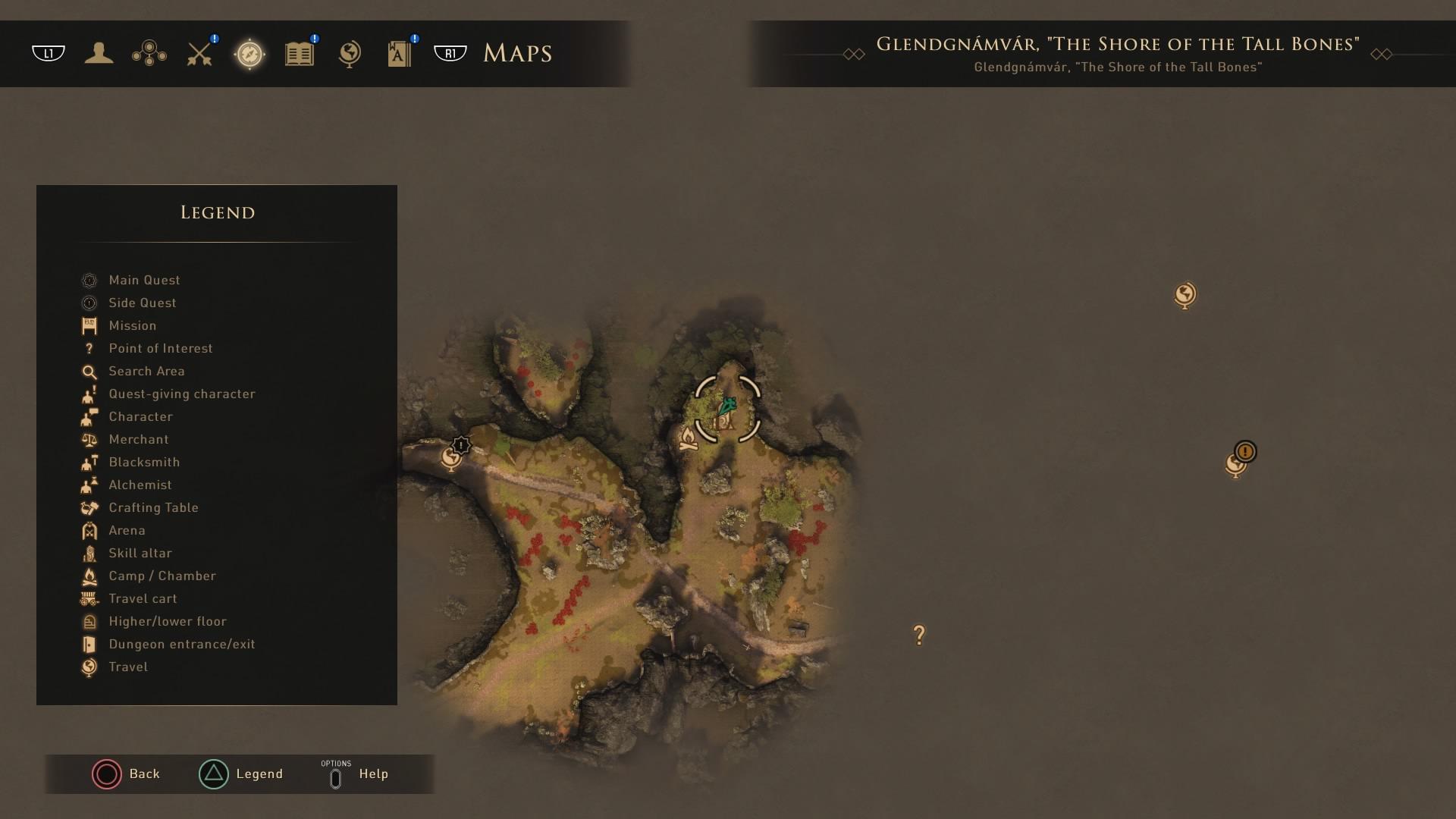 GreedFall: Glendgnamvar Skill Altar 01
