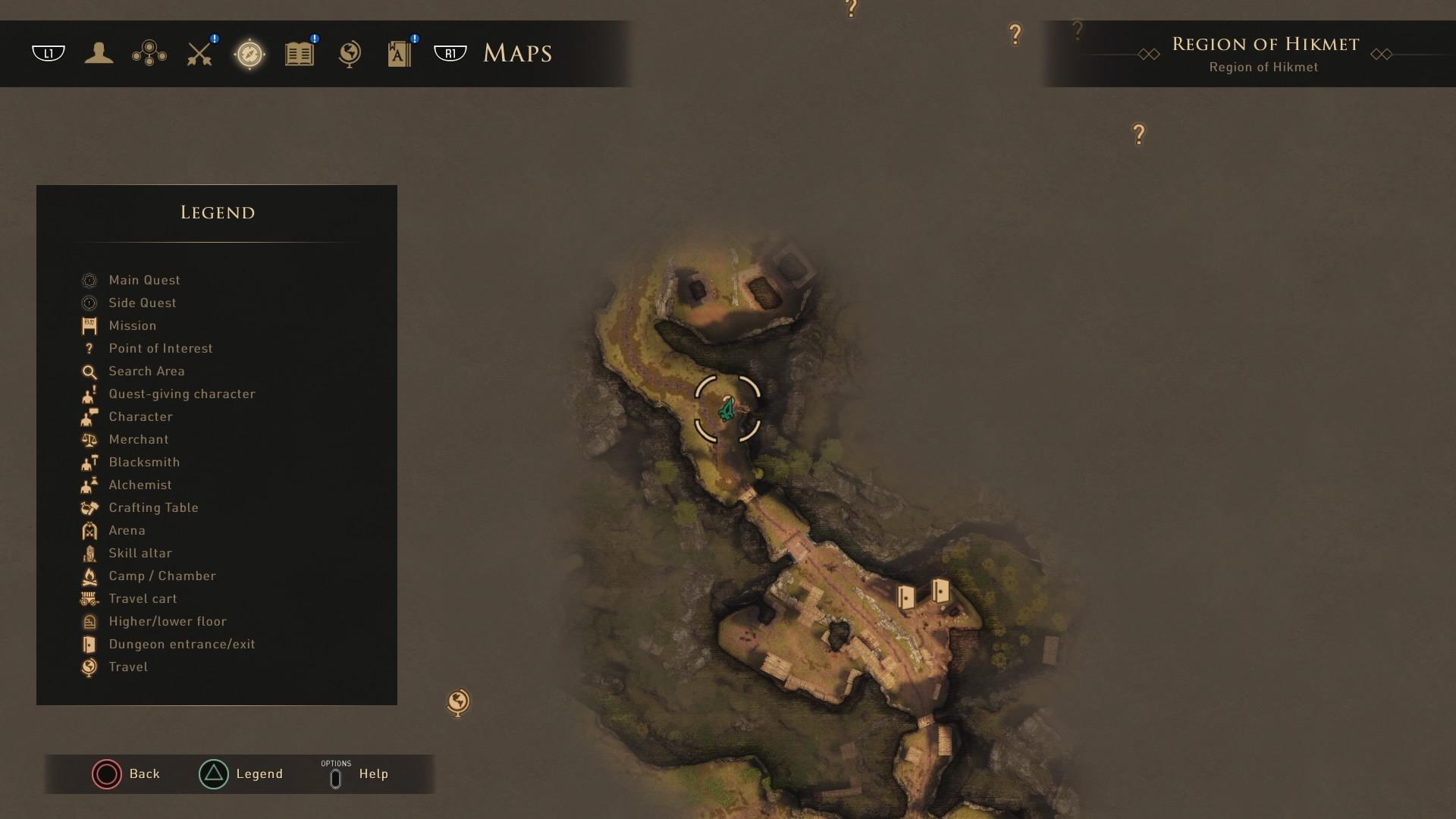 Greedfall: Region of Hikmat Campsite 01