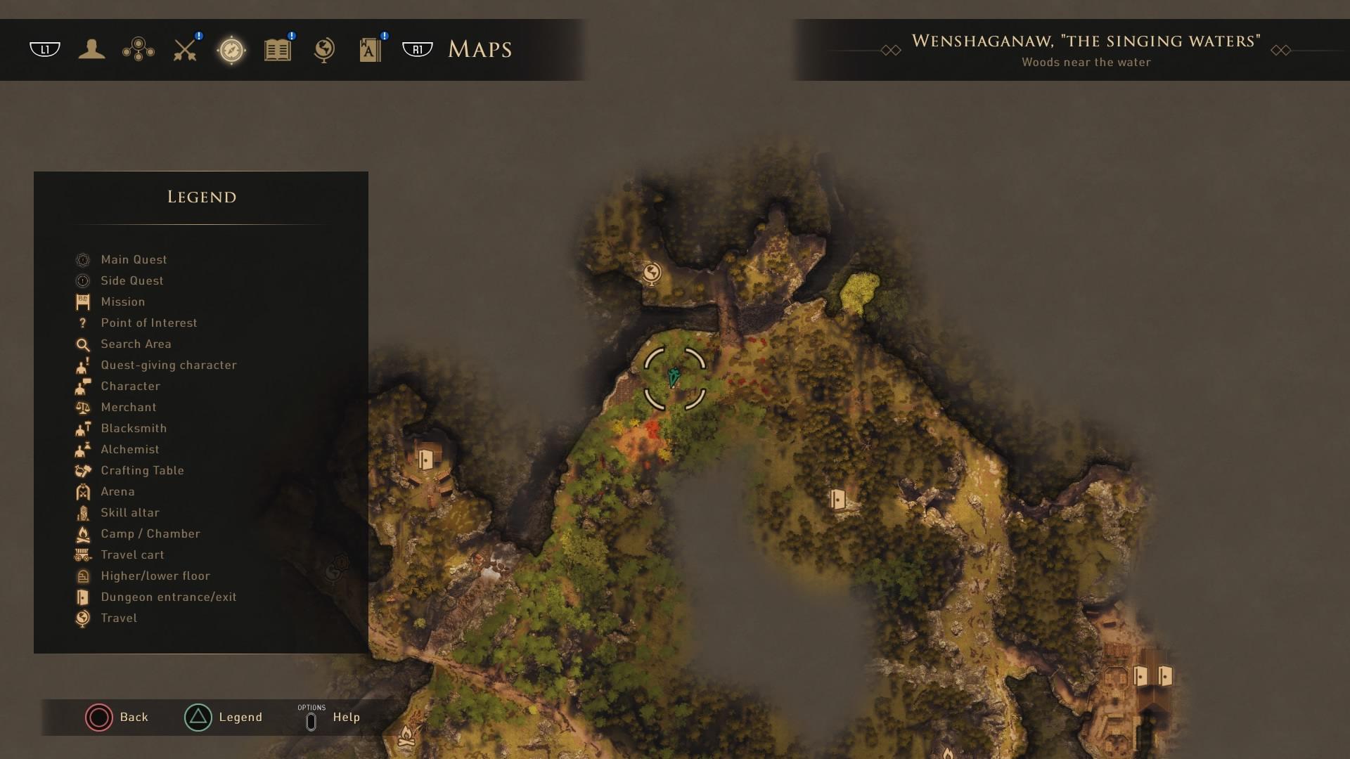 Greedfall: Wenshaganaw Camp Site 03
