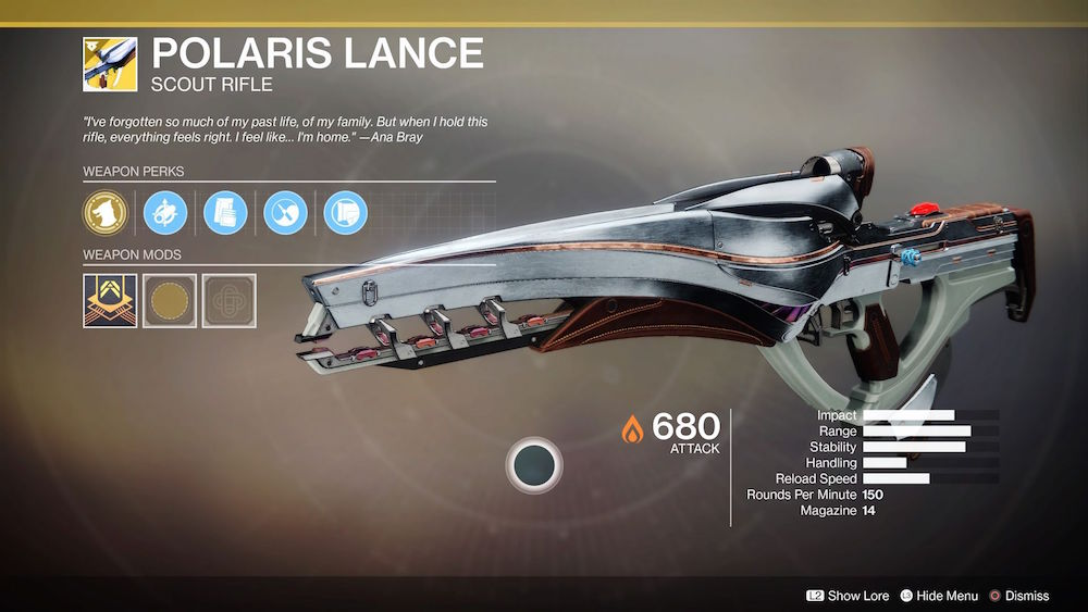 Destiny 2 - How to Get Polaris Lance - PlayStation Universe