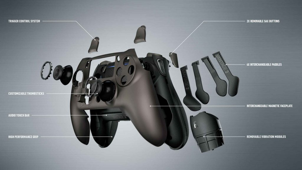 SCUF Vantage 2 Exploded