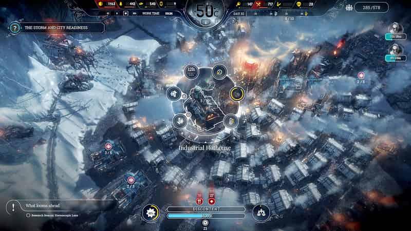 Best PS4 Indie Games Frostpunk