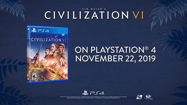 Civilization PS4 Release
