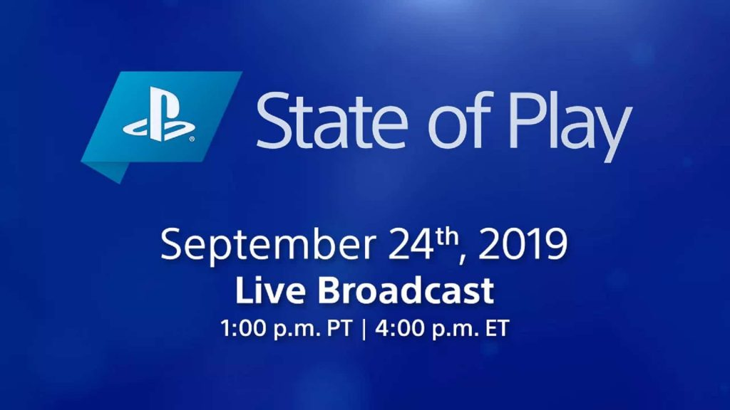State of Play September 2019