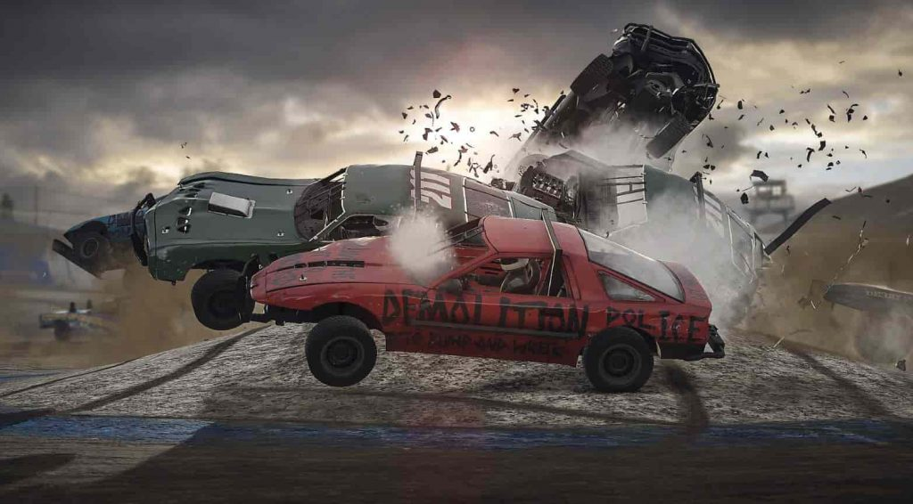 Wreckfest 1.05 PS4 Update Patch Notes