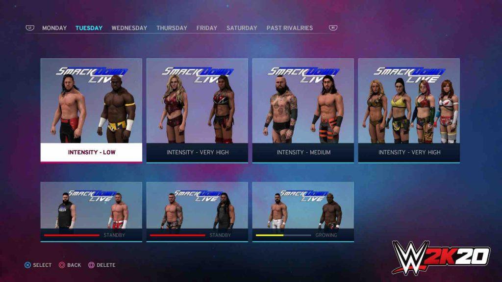 WWE 2K20 Universe Mode 2