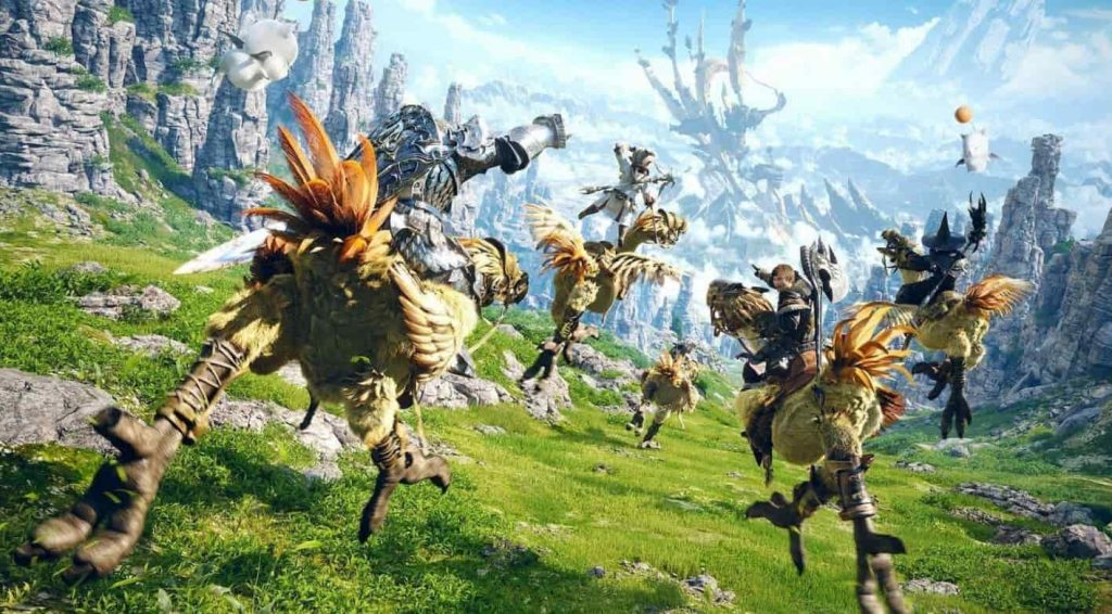Best MMORPG Games For PS4 - PlayStation Universe