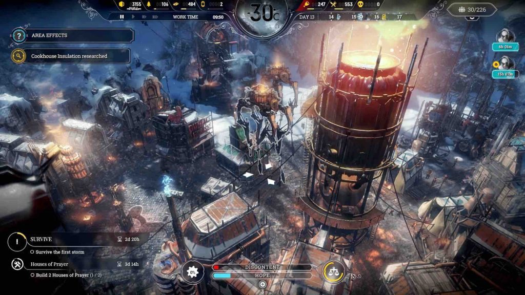Frostpunk PS4 Review 1