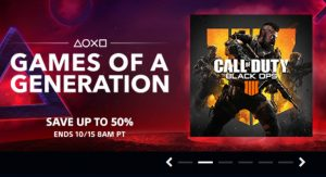 Games of a Generation PS4 Sale