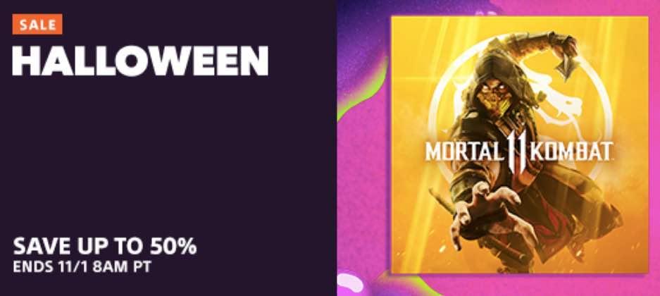 Halloween PS4 Sale