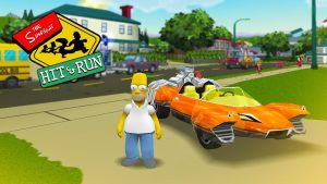 Simpsons Hit and Run PS4