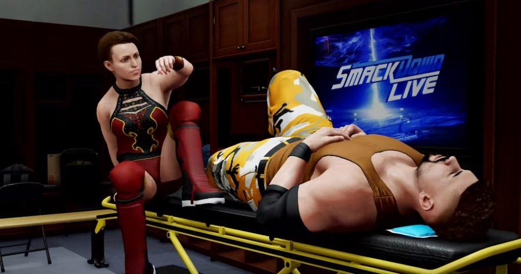 WWE 2K20 My Career