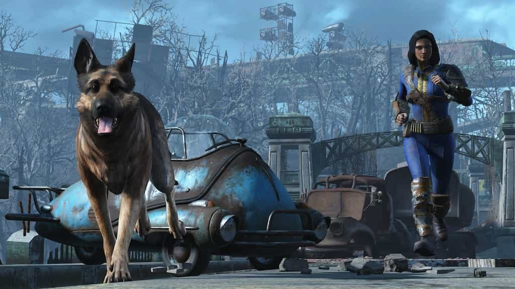 best dogs on PS4 Dogmeat