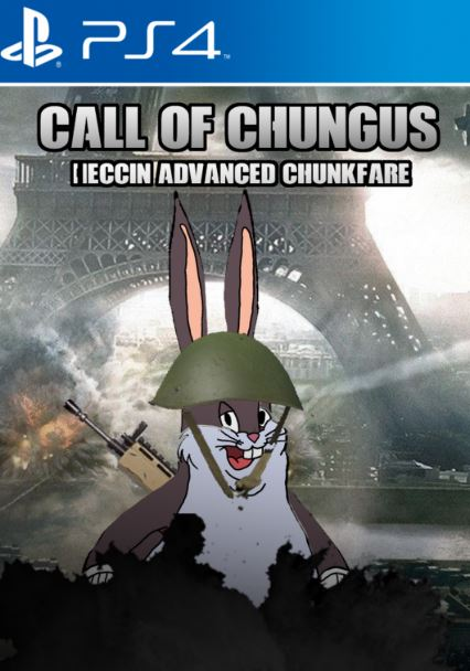 Big Chungus PS4 Call of Chungus