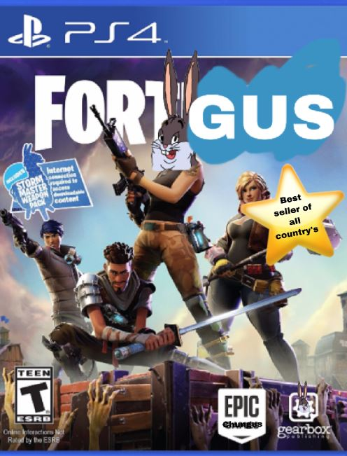 Big Chungus PS4 Fortgus
