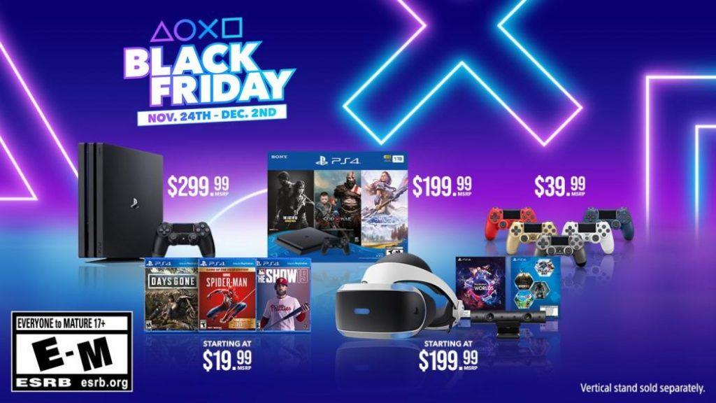 Black Friday 2019 PS4 PS4 Pro Bundles