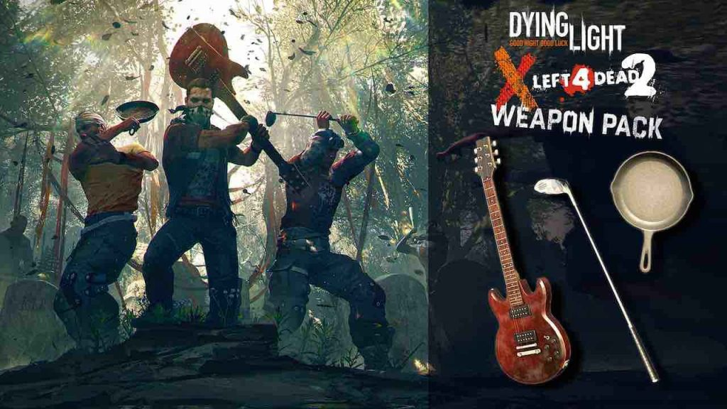 Left 4 Dead 2 PS4 Dying Light