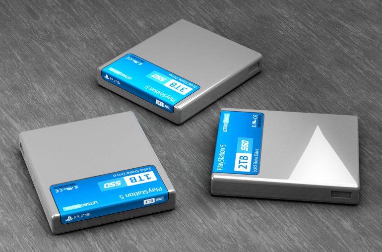 SSD PS5 Storage