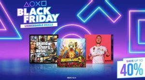 UK PlayStation Store Black Friday 2019
