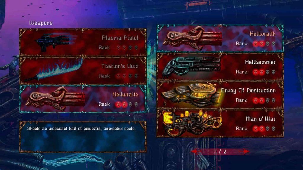 Valfaris PS4 Review 2