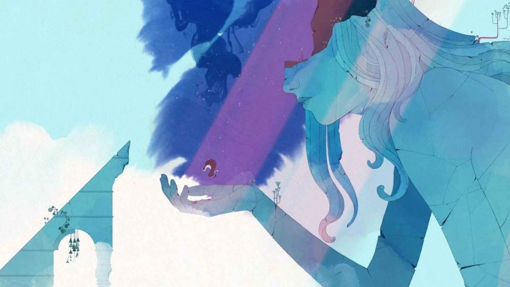 Gris-ps4-review-hand