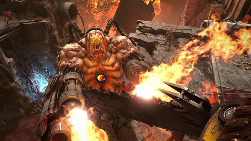Best PS4 FPS Games DOOM Eternal