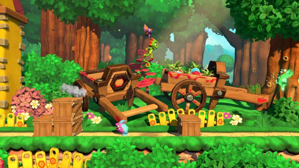 Best PS4 Platform Games Yooka-Laylee and the Impossible Lair