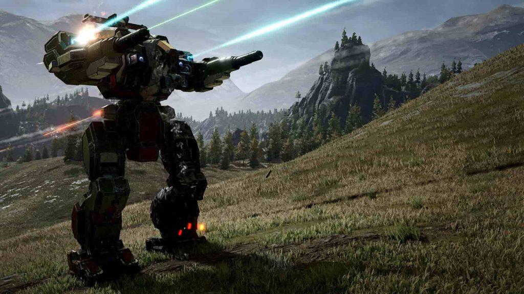 Mechwarrior 5 PS4