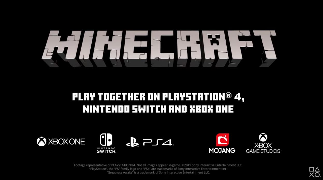 Minecraft Ps4 Bedrock Edition Releases Tomorrow Brings Cross