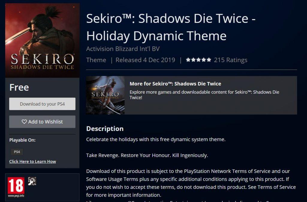 Sekiro DLC Theme