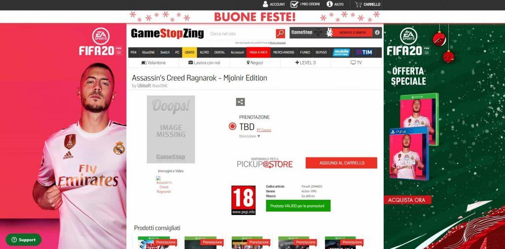 Assassins Creed Ragnarok PS4 Leak 1