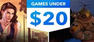 Games under 20 US PSN Sale