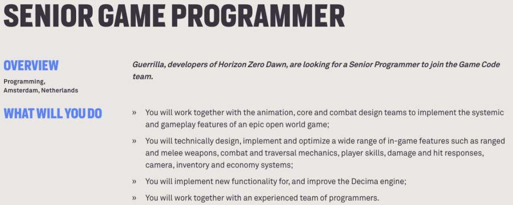 Horizon Zero Dawn 2 PS5 1