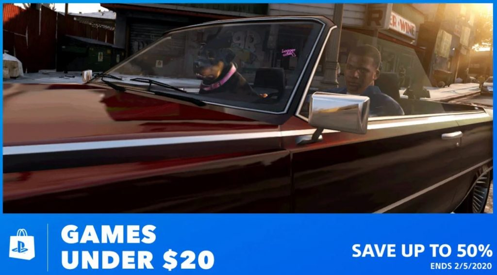 PS4 Games Under $20 Sale