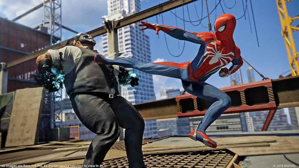 Spider-Man PS4 PS5 Backwards Compatibility