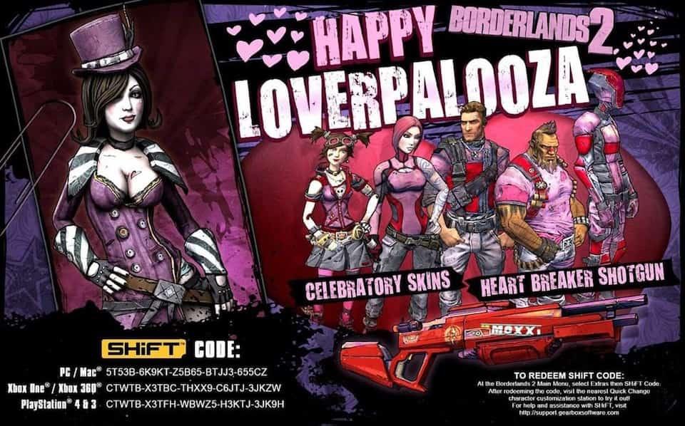 Borderlands 2 Valentines Shift