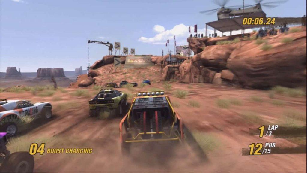 all PS3 launch games motorstorm