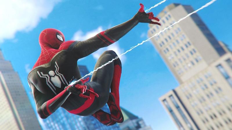 PS5 Teraflop Spider Man