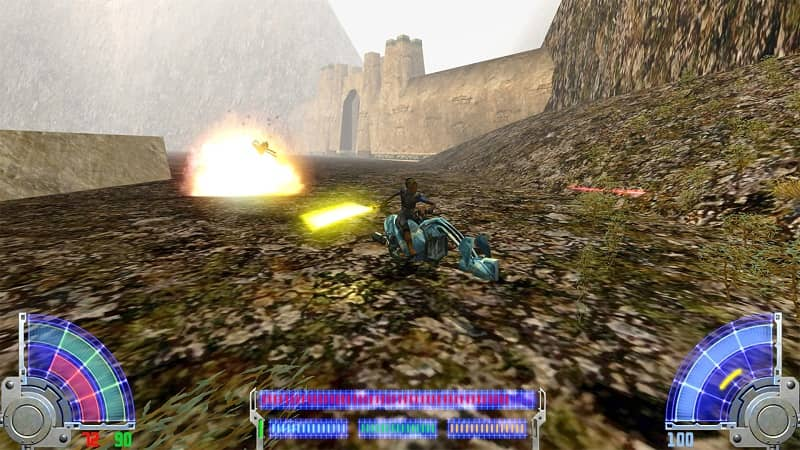 Star Wars Jedi Knight Jedi Academy Ps4 Review Playstation Universe