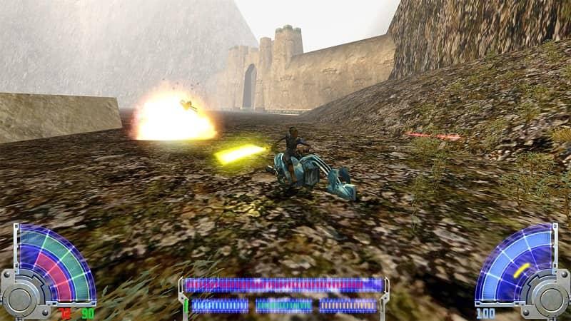 Star Wars Jedi Knight Jedi Academy PS4 Review 4
