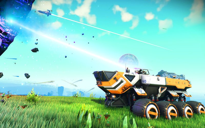 No Man's Sky mechs revealed in leaked trailer